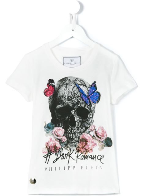 Philipp Plein Kids 'Rock Gal' T-shirt
