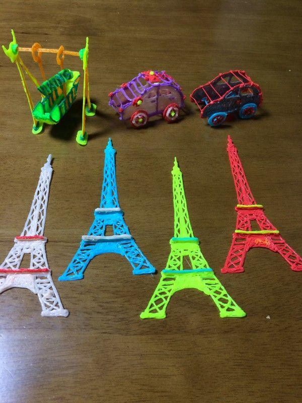 에펠탑,붕붕카,바이킹 > 작품자랑 게시판   3D스팀펜-상상을 현실로 3D펜!