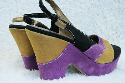 Purple and Mustard, Suede... from £5