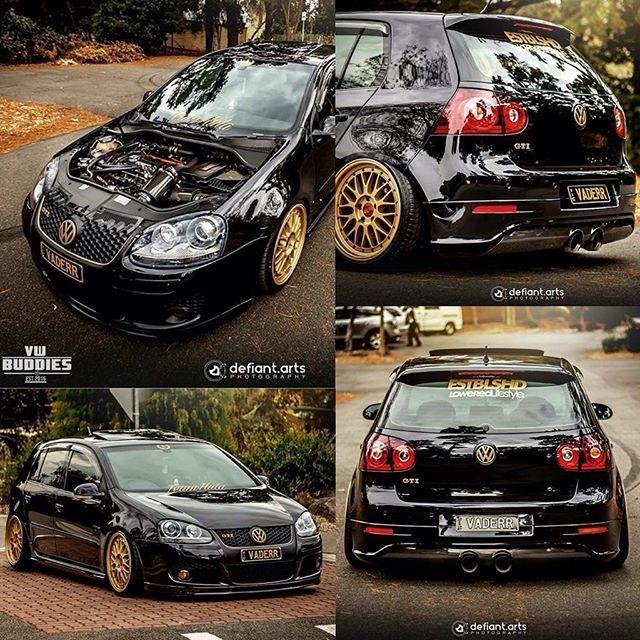 ⚫ mk5 GTI ❤ black & gold ⚫ GTI with .:R32 rear bumper. What do you think about that buddies? Do you also like more booty of r32?  #tb when buddy had a mk5 buddy: @refrigervaderr  : @defiant.arts -–—–- • tag #vwbuddies @vw.buddies for  and possible repost -–—–- #mk5 #gti #pirelli #vwgolf #vwlove #mk4 #golf #r32 #dasauto #vdubs #vdub #mk6 #mk7 #bbs #wheels #golf4 #golf5 #golf6 #golf7 #vwlife #vw #stance #carporn #volkswagen #bagged #static #vwgti #mk5gti