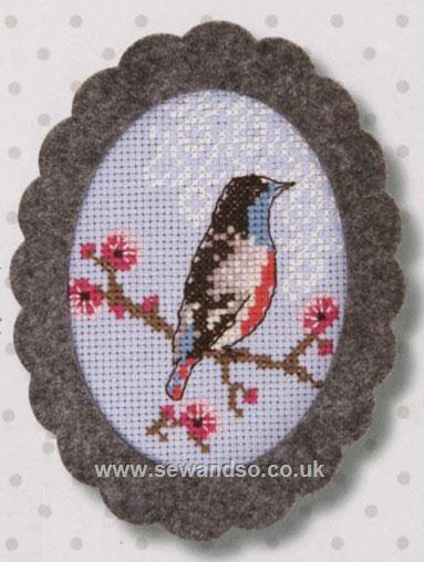 Bird on Cherry Blossom, £5.85