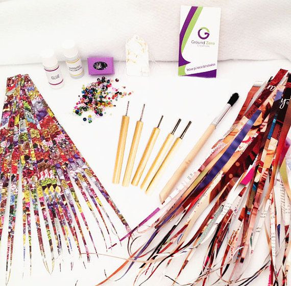 Paper Bead Kit DIY Jewelry Making Kits by GroundZeroCreations
