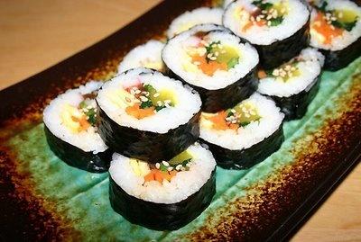 Kimbobs - my favorite korean food!