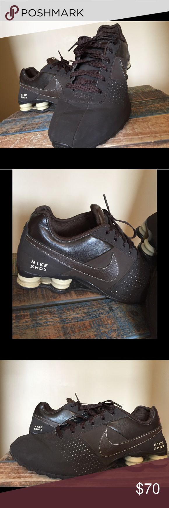 "MEN'S NIKE SHOX Running Shoes This is a pair of men's Nike Shox ""Deliver"" running shoes.. they are in excellent used condition.  Worn only twice!! Nike Shoes Sneakers"