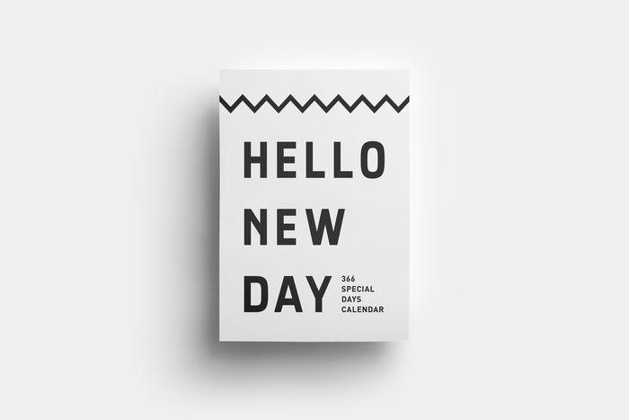 """日めくりカレンダー""""HELLO NEW DAY""""。366枚の素敵なイラストが待ってるよ。"""