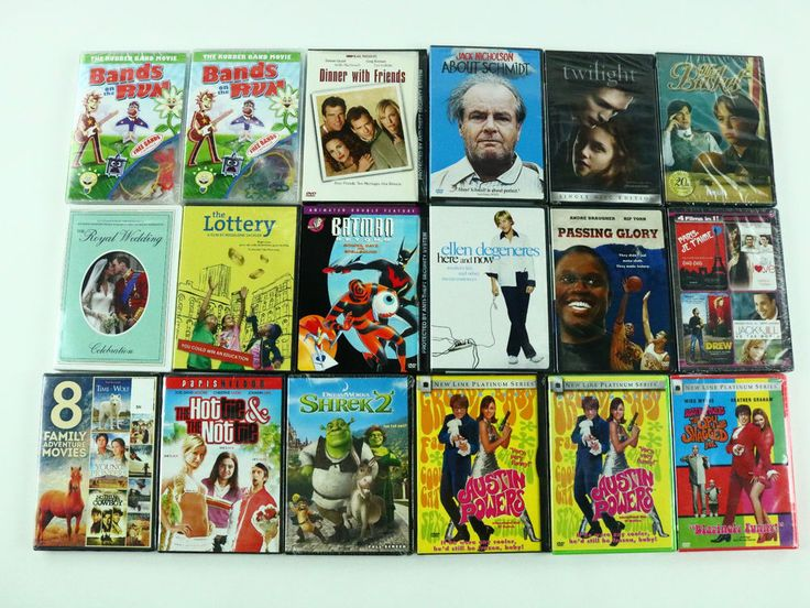 Kids Family Movie DVD Lot Of 53 Comedies Movies - All Brand New Sealed Twlight