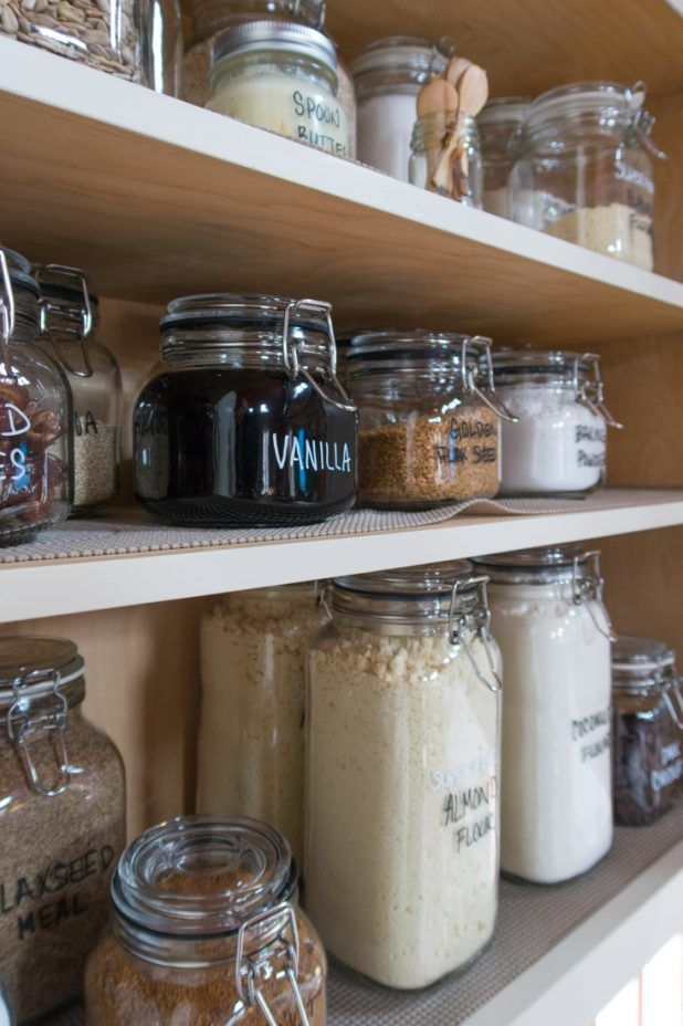Baking Cupboard Storage Organization With Images Canned Food