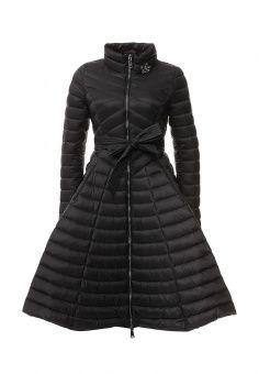Пуховик, Odri, цвет: черный. Артикул: OD001EWLWS88. Женская одежда / Верхняя одежда