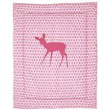 BabyStuf.nl - Taftan boxkleedje hertje roze #boxkleed