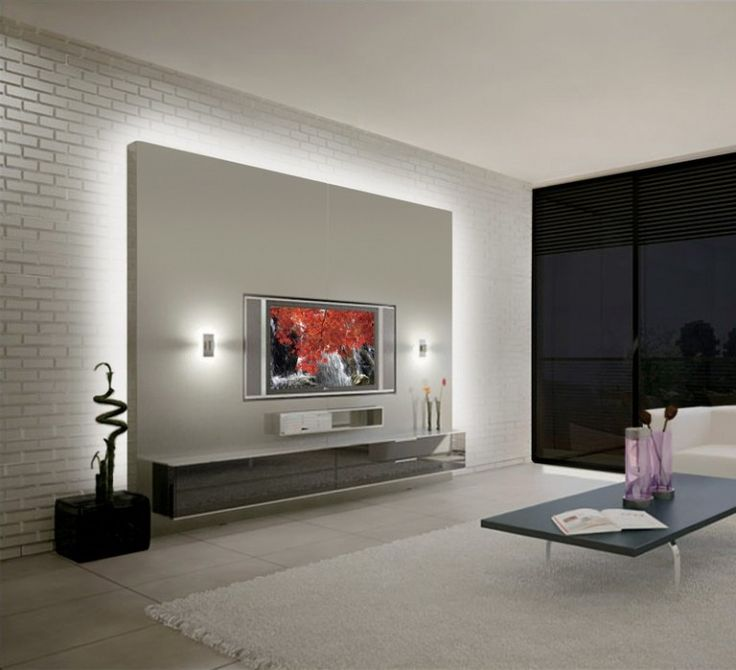 Die besten 25+ Tv wand led strip Ideen auf Pinterest - led deckenbeleuchtung wohnzimmer