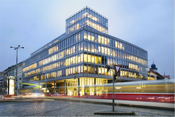 w:u studio for Charles Square Center Prague PINNACLE R.E.I.