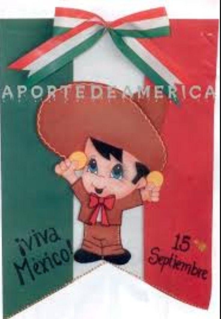 M xico sept class ideas mexicano fiesta mexicana y fiesta for Puertas decoradas para el 16 de septiembre