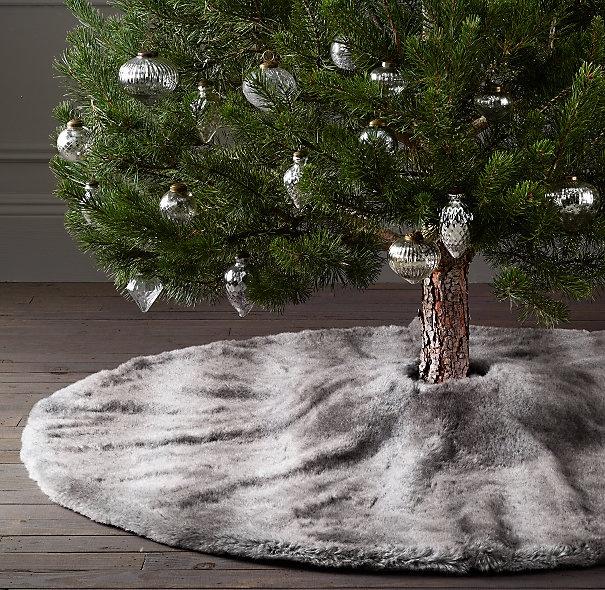 The 25+ Best Faux Fur Tree Skirt Ideas On Pinterest