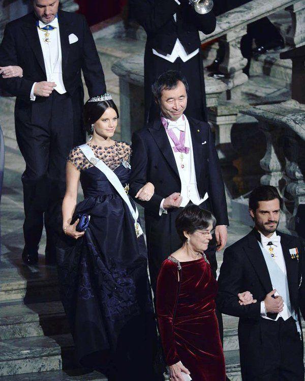 Prinsessan Sofia, Nobel 2015.  Snyggast utav alla!