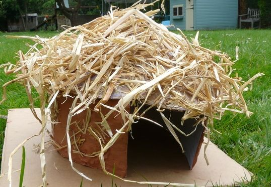 How To Build A Model Celtic Roundhouse Using Cardstock