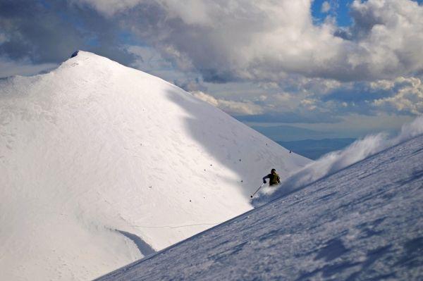 Ski in Falakro Mountain, northern Greece