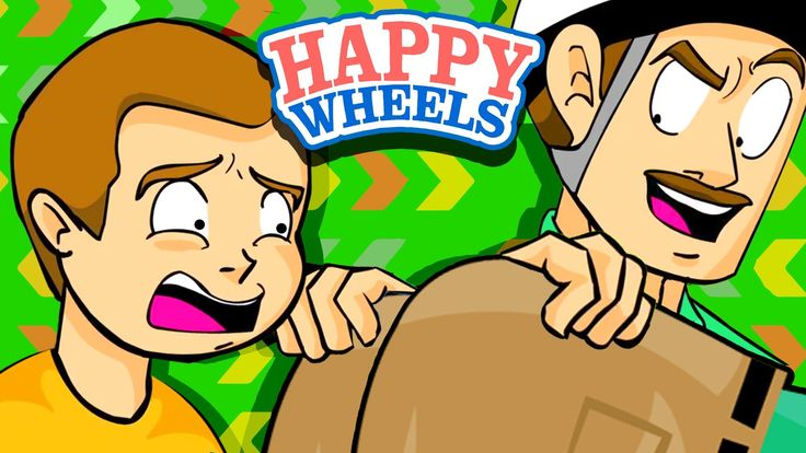 LOOK AT MY BUTT, SON! - Happy Wheels