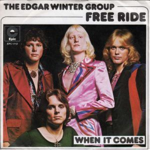 Edgar Winter Group Free Ride Isolated Guitars