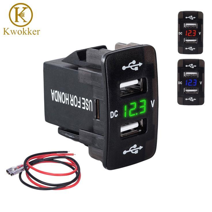 Cheapest DC <b>12</b>-<b>24V</b> Dual USB Port <b>Car</b> Charger <b>Cigarette Lighter</b> ...