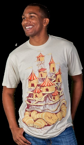 cirque-au-porter T-shirt by tolagunestro from Design By Humans.