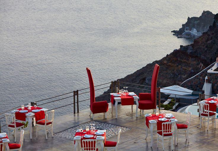 Santorini marriage proposal