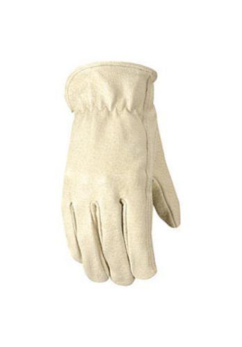 Wells Lamont 1133M Leather Work Gloves, Medium