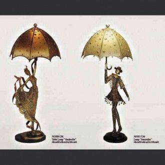 Настольные лампы Vaudeville и Storyteller