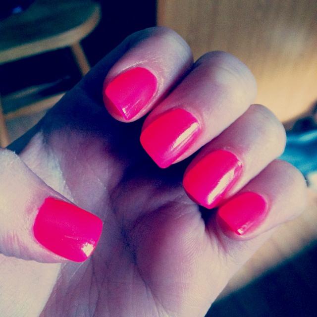 Hot pink nails: Nails Nails, Hot Pink Nails, Nails 3