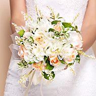 trevlig+runda+form+silke+bröllop+bukett+–+SEK+Kr.+234