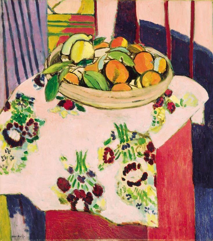 Henri Matisse, Still Life with Oranges,1913