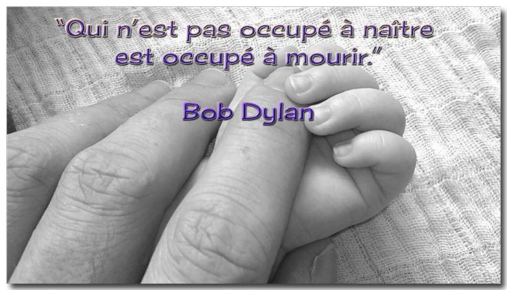 citation de Bob Dylan