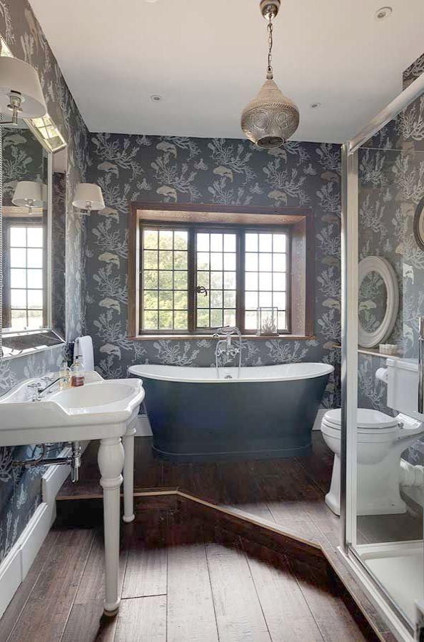 Excellent Primitive Country Bathrooms Pinterest Valuable Banheiro Pequeno Banheiro De Luxo Banheiro