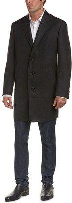 Canali Wool Overcoat.
