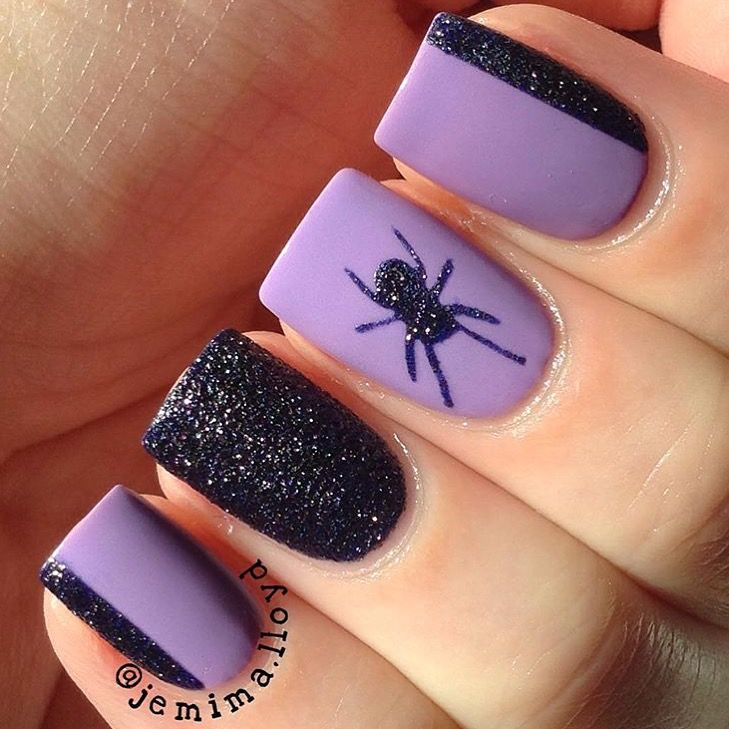 Spooky and spectacular manicure by @jemima.lloyd (IG ...