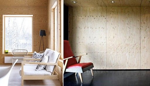 Plywood Walls Buildings Plywood Interior Plywood