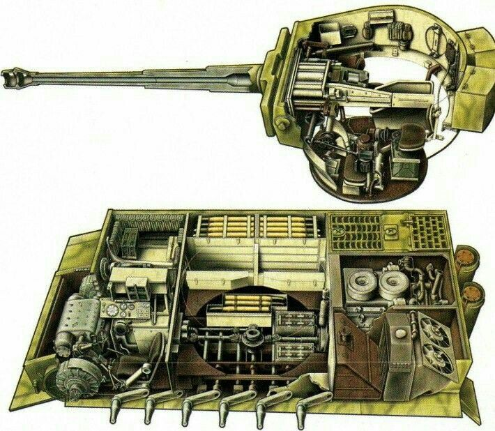 german tiger i interior wwii armour pinterest tigers and panzer iv