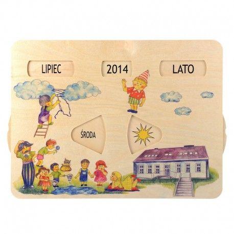 Edukacyjny, Drewniany Kalendarz Pogody Pilch 110154 dla Dzieci od lat 3 do nauki dni tygodnia, miesięcy oraz zjawisk pogodowych.  Codziennie razem ustawiajcie obrazek odpowiadający pogodzie panującej za oknem:)  Miłego Weekendu:)  http://www.niczchin.pl/zabawki-edukacyjne-dla-dzieci/2543-pilch-110154-kalendarz-pogody.html  #pilch #zabawkiedukacyjne #kalendarzpogody #zabawki #niczchin #krakow
