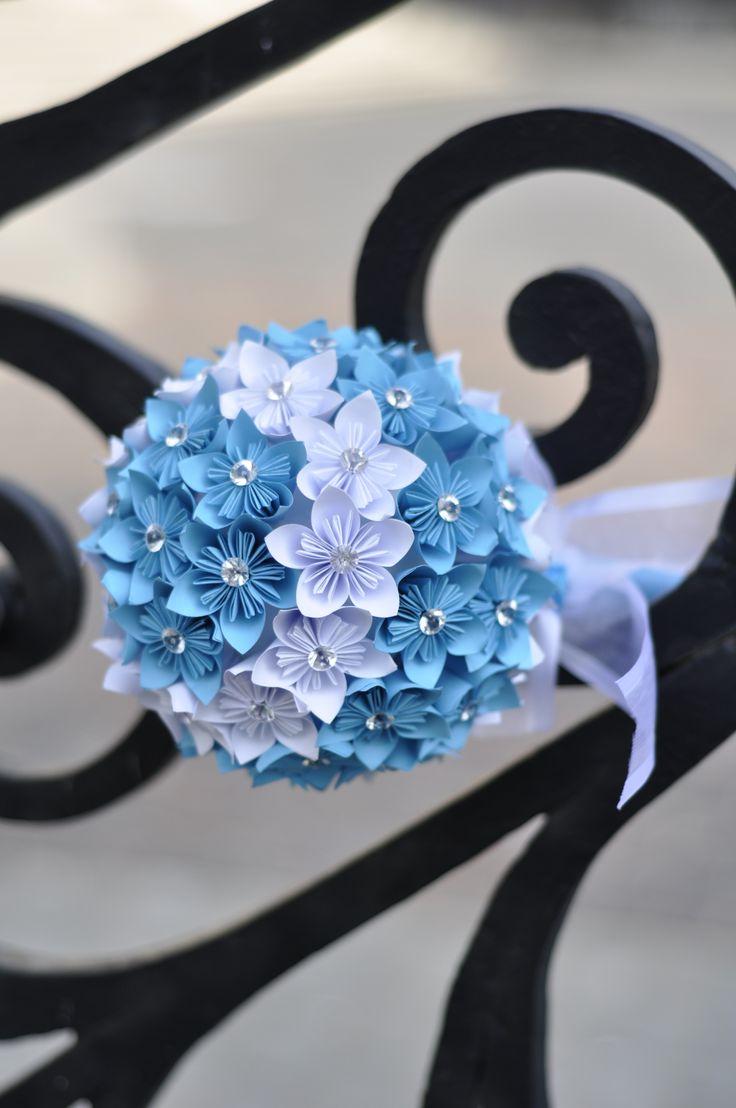 origami paper wedding