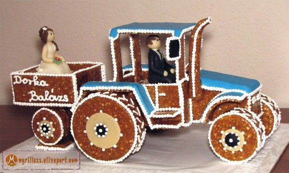 Esküvői traktor / Wedding tractor