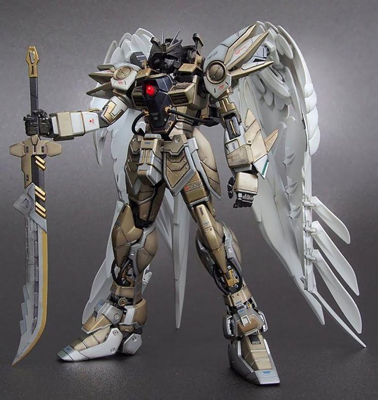 GUNDAM GUY: MG 1/100 Wing Gundam Zero Diablo Archangel - Custom Build