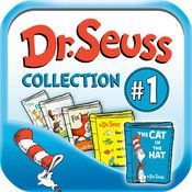 Dr. Seuss Beginner Book Collection. This is 5 books in 1 and is our go-to collection when we travel. Great in the hotel room when one child is asleep and the other is still awake.