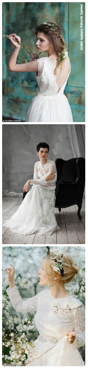 Light wedding dresses are made of natural fabrics from the world famous professional designer Victoria Spirina. http://http://WWW.VICTORIASPIRINA.COM Unusual, high-quality, comfortable dress has made of natural silk. http://victoriaspirina.com/ More than 150 unique models. Romantic wedding dress, Grey wedding dress, Rustic wedding dress, Lace wedding gown, Boho wedding dress, Bohe mian wedding dress, Romantic wedding gown