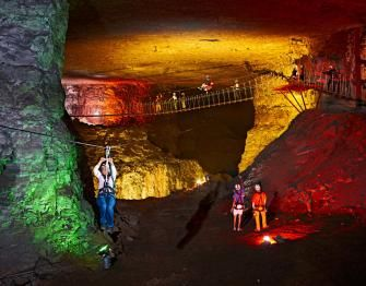 Zip! 5 cool Midwest cave tours: http://www.midwestliving.com/travel/around-the-region/5-cool-midwest-cave-tours/