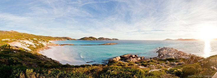 Lucky Bay, Cape Le Grand National Park, Australia | Panoramique de Lucky Bay, Cape Le Grand National Park