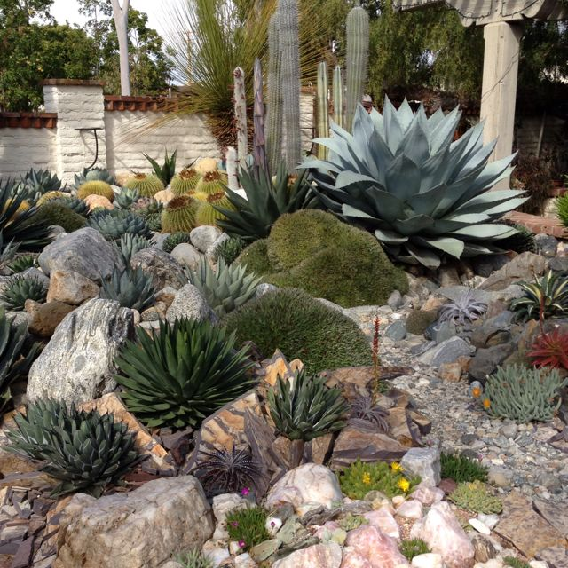17 best images about rock garden ideas on pinterest for Garden scaping