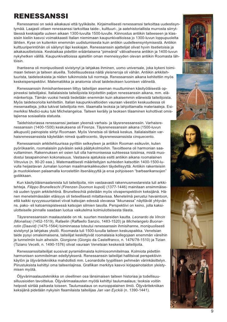 RENESSANSSI   Renessanssi on sekä aikakausi että tyylikäsite. Kirjaimellisesti renessanssi tarkoittaa uudestisyn- tymää. L...