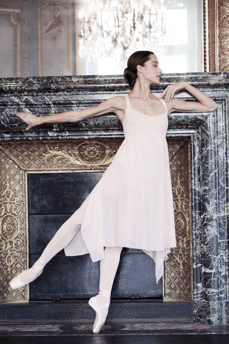 Dorothée Gilbert, Prima Ballerina wearing the dress 'Juliet' and #Repetto pointe shoes.