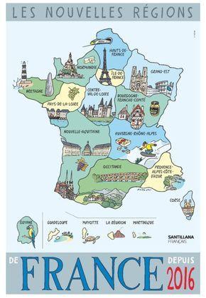 Les nouvelles régions de France