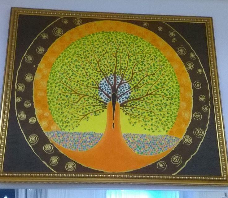 Tree picture древо рисунок в центре Према город Казань.