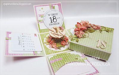 box urodzinowy / birthday box card